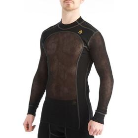Aclima Woolnet Crew Neck Shirt Men Black